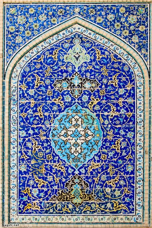 دیوار کاشیکاری شده قدیمی گالری تصاویر نقش Islamic Art Islamic Art Pattern Persian Culture