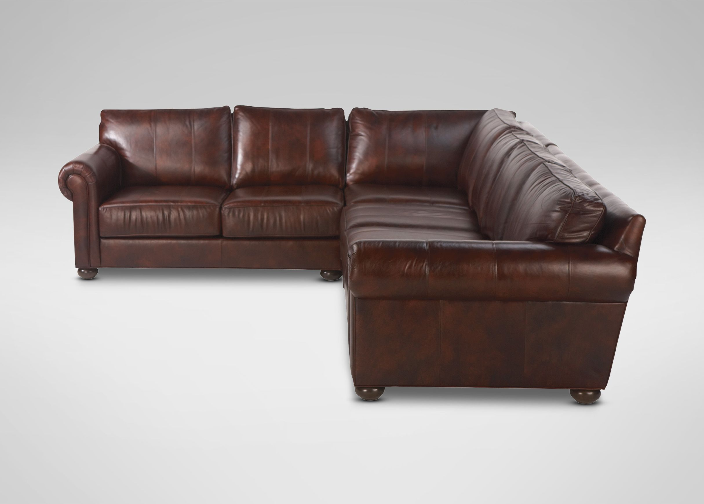 Richmond Leather Sectional Ethan Allen