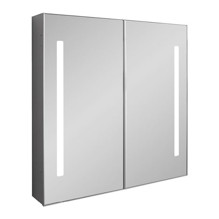 Crosswater Bauhaus Allure 700mm Led Illuminated Mirrored Cabinet