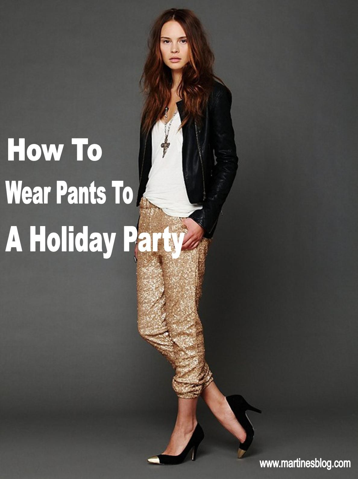 Holiday Party Attire for Women