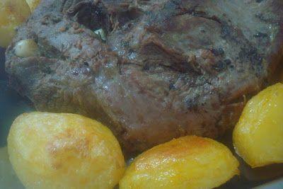 Culinária de Domingo: ALCATRA COM ALHO NO FORNO
