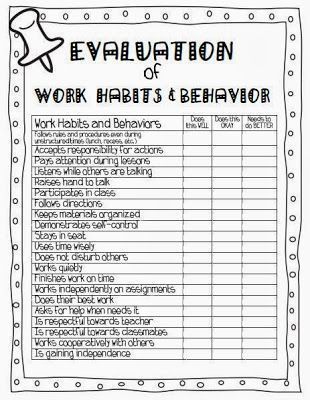 Parent Conference form Education Pinterest Parent conference - teacher evaluation form