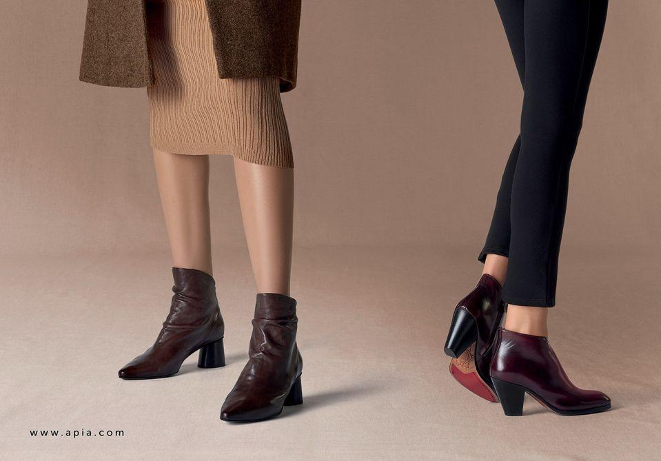 Botki Apia Kowbojki Apia Ankle Boots Apia Trendy Aw 19 20 Boots Shoes Ankle Boots