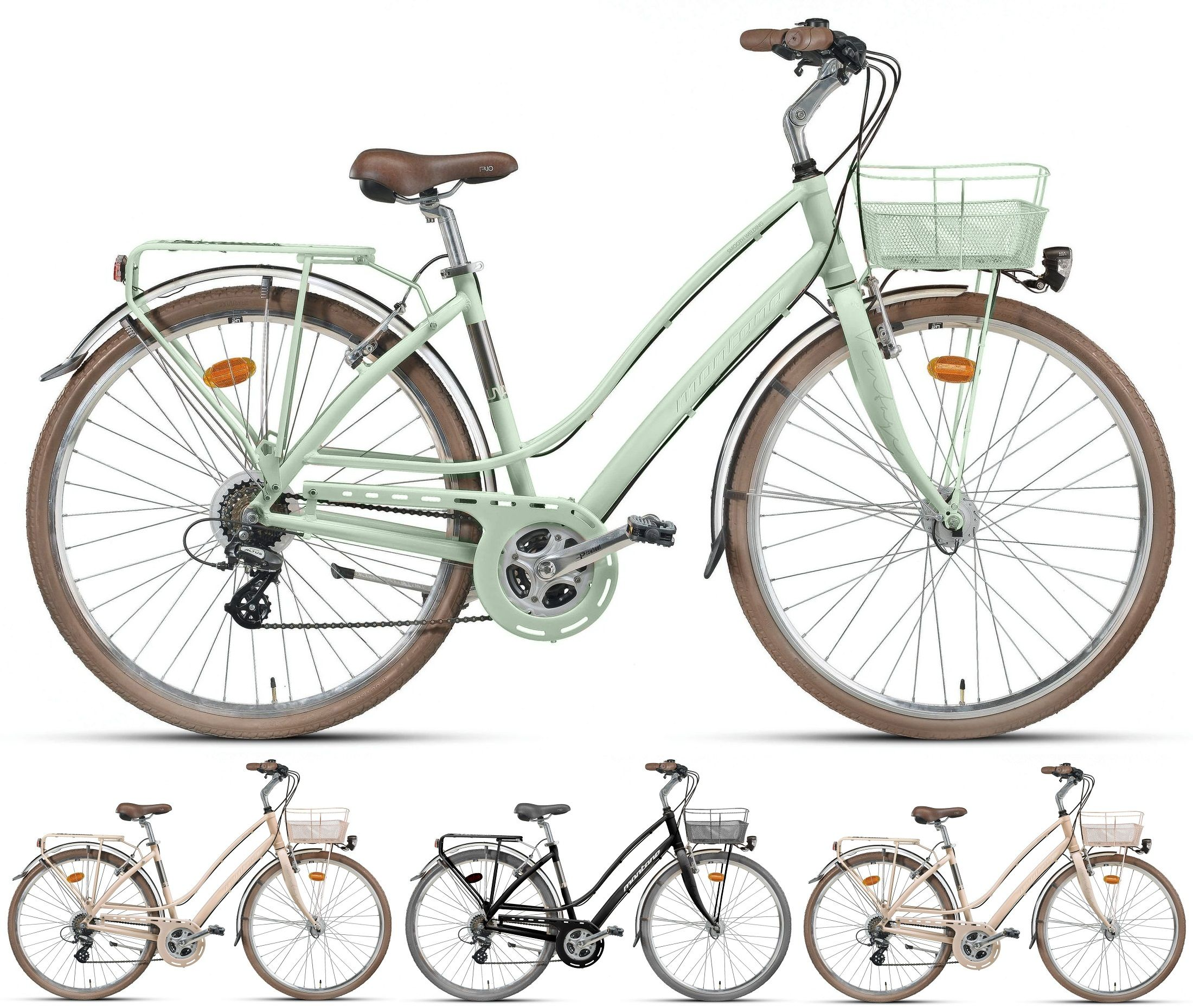 28 Zoll Montana Lunapiena Damen City Fahrrad Aluminium 21 Gang Fahrrader Cityrader Damen Cityrader City Fahrrad Fahrrad Rad