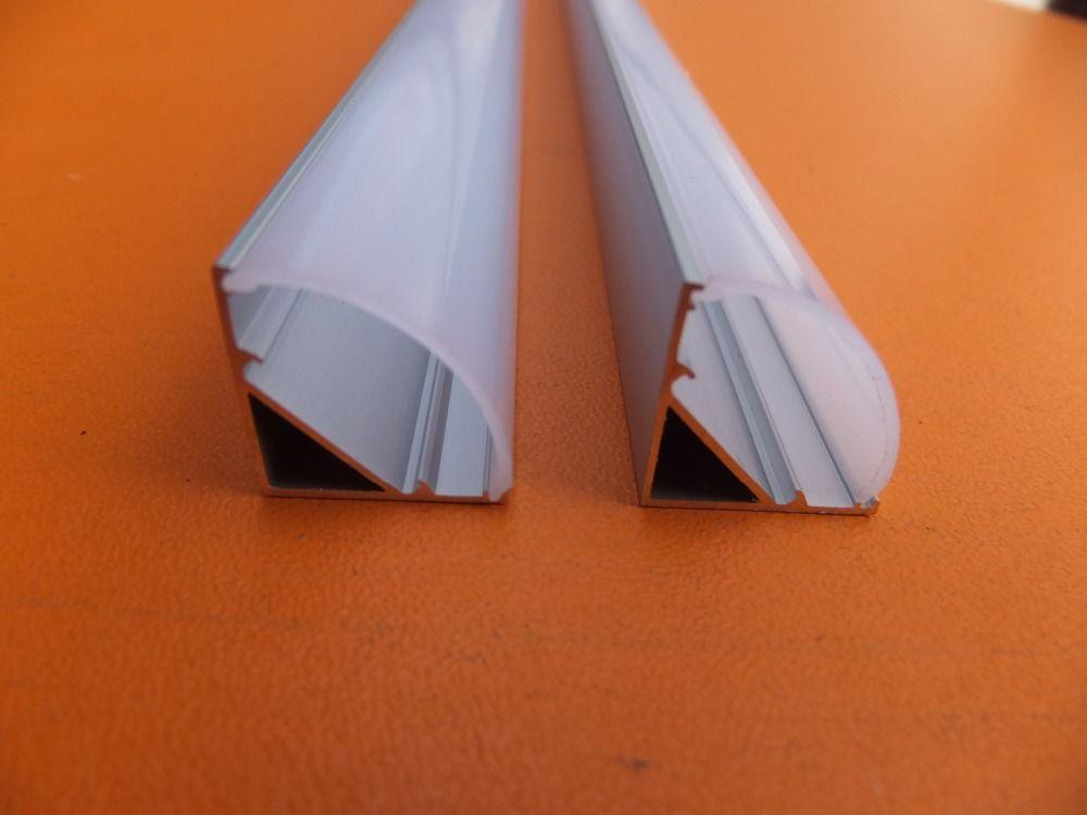 Us 255 65 Feb Only Free Shipping 20pcs Lot Led Aluminium Profile For Led Strip With 60 Degree Optical Lens Cover Fo Led Aluminum Profile Led Lights Led House