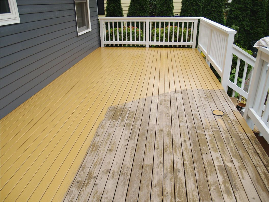 Deck Staining Painting Service Certapro Painters Of North Seattle During Wood Staining