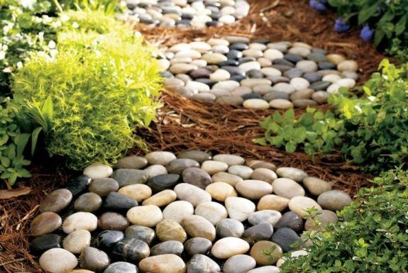 Modèle de jardin avec galets en 26 exemples inspirants Zen