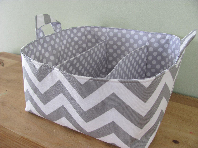 NEW Fabric Diaper Caddy Fabric organizer storage bin
