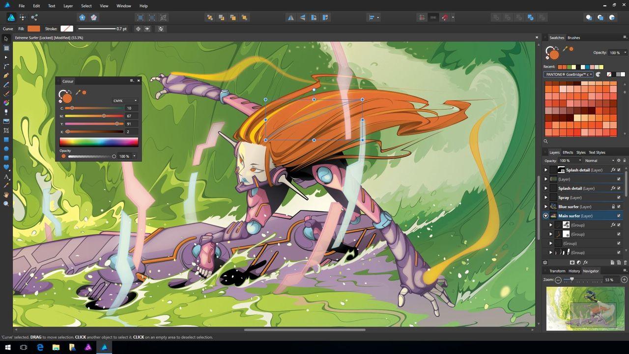Hanki Illustratorin haastava Affinity Designer nyt myös Winukalle vain 3990! https://affinity.serif.com/blog/affinity-designer-for-windows-has-launched/ #potkukelkkacom