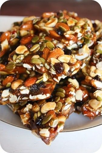 f45d0aa2e737c1243d8ee735d474cc9c 336x500 Autumn Brittle Recipe    Healthy Sweet Energy Bar