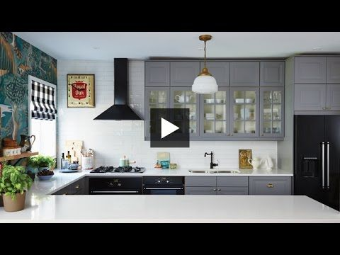 Interior Design — Dramatic Boldly Decorated Family Ikea Kitchen Inspiration Interior Design Of The Kitchen Decorating Inspiration