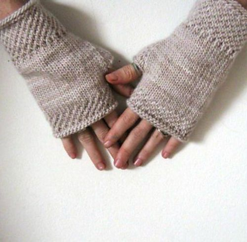 Honeycomb Wrist Warmers Knit Pattern By Courtney Spainhower