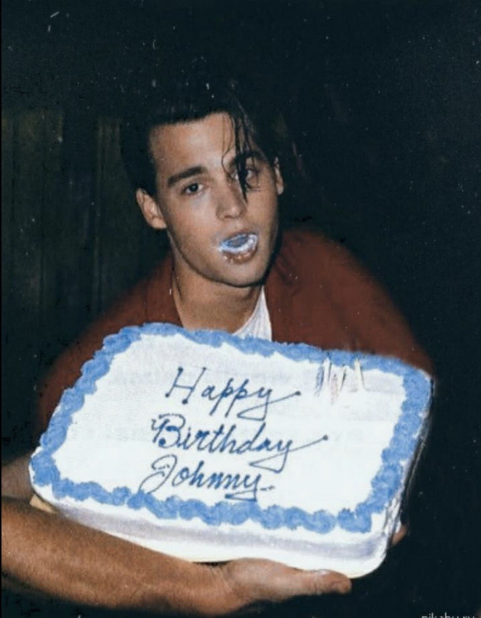 Happy Birthday Johnny Depp Ii With Images Johnny Depp Young