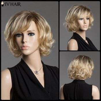 Short Wigs with Side Bangs
