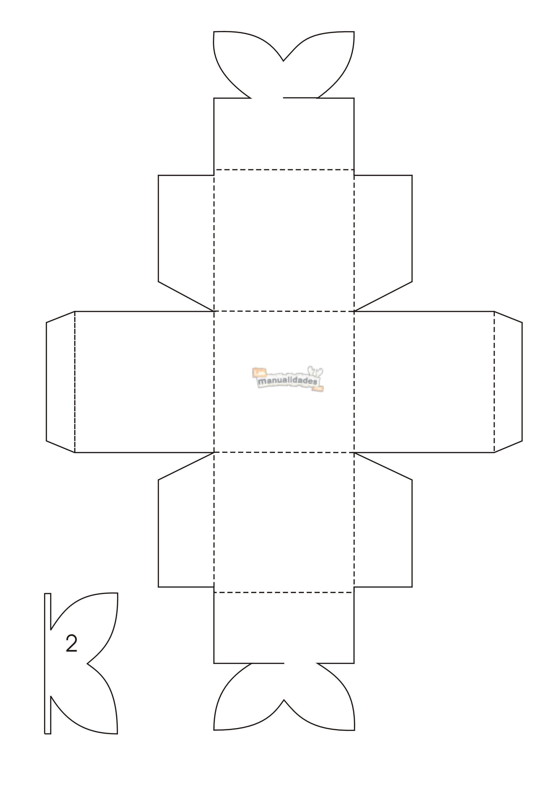 plantilla_caja_frutal1.jpg | manualidades | Pinterest | Cajas ...