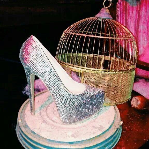 Steve Madden shoes fashion blog instagram sparkle bird cage gold silver metallic
