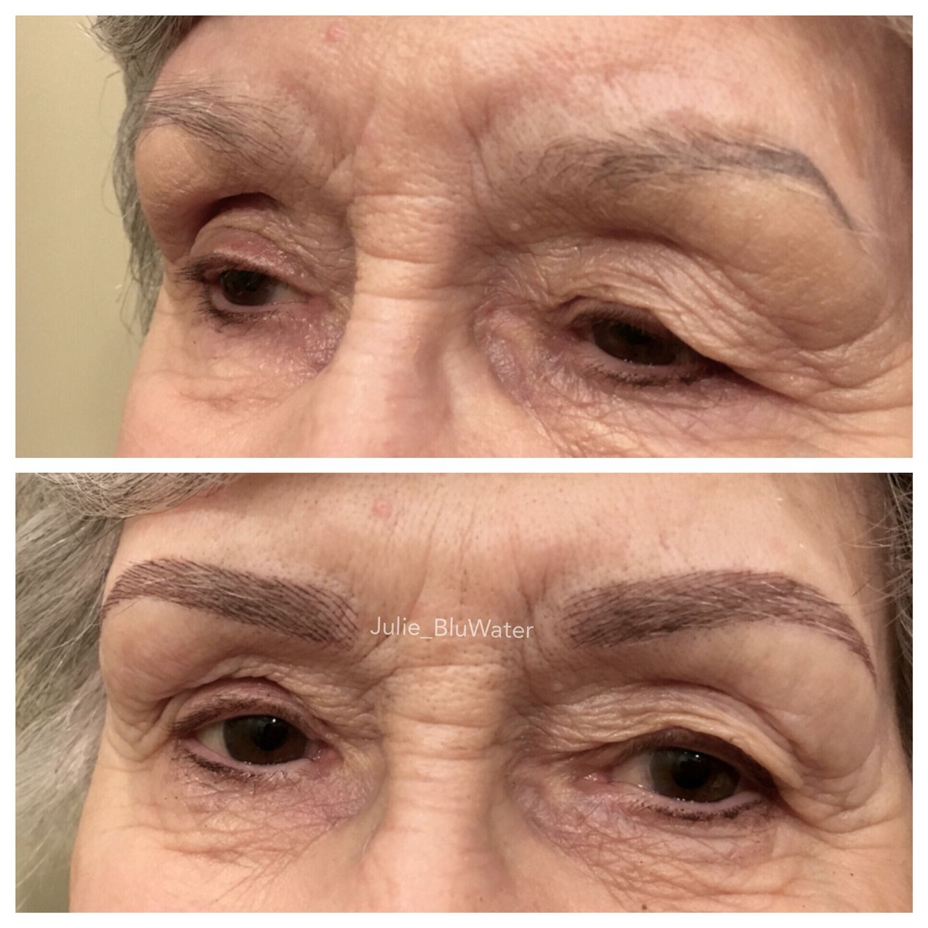 Microblading For 86 Years Old Lady  Microblading -3858