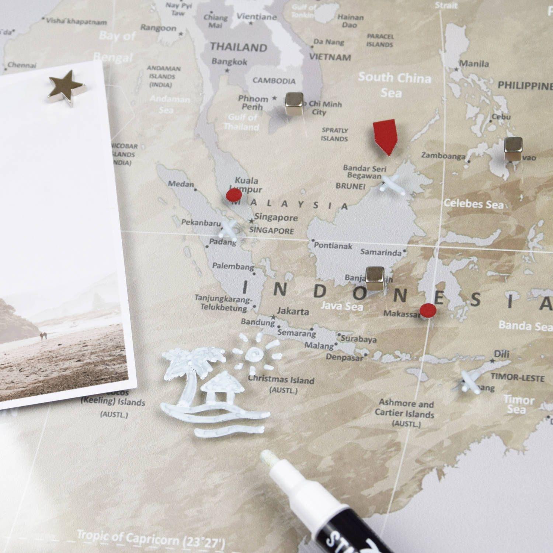 Weltkarte Pinnwand In 2020 Weltkarte Pinnwand Kunst Bilder Kaufen Weltkarte