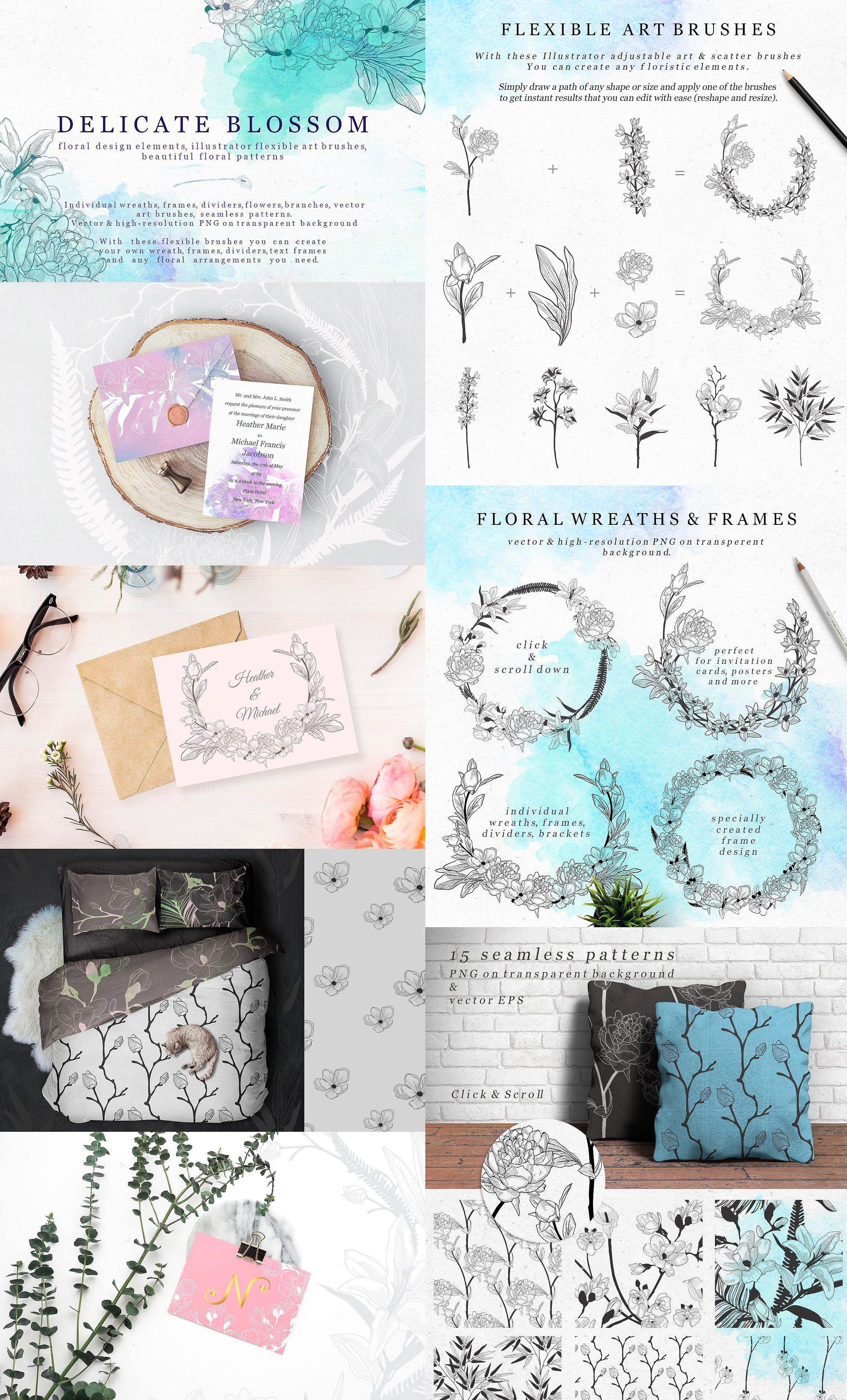 Creative clock background   in   OlyaCreative Bundle by OlyaCreative on creativemarket