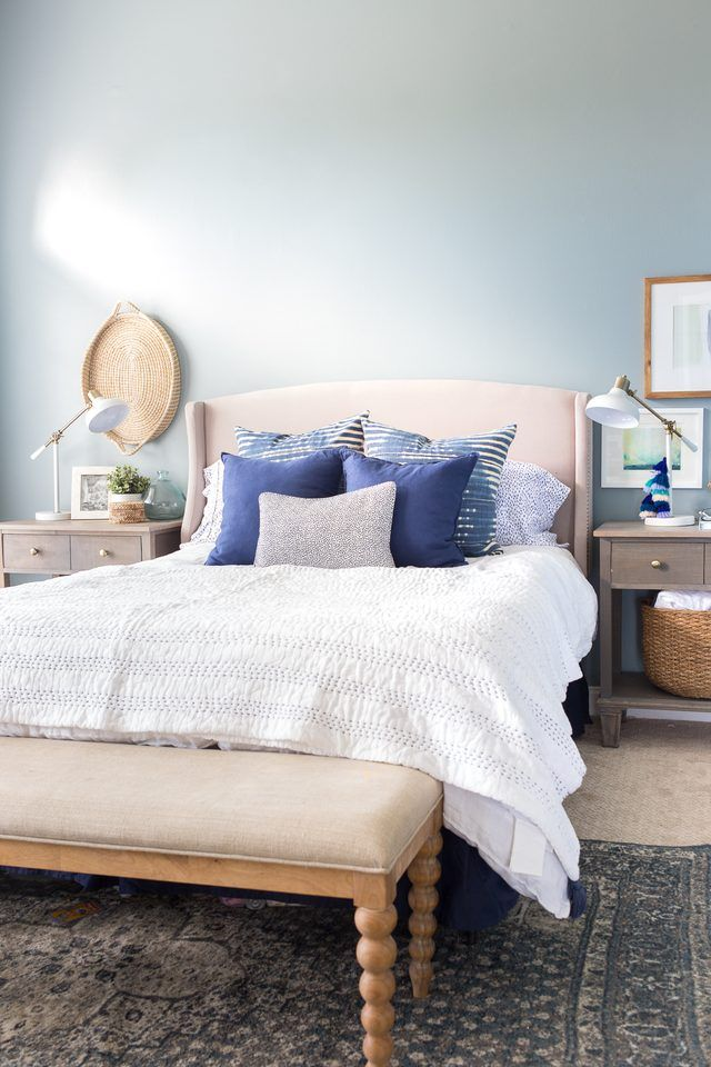 13 Blue Bedroom Ideas That Are Anything But Sad images
