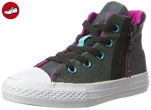 Ct Jersey Quilt, Damen Hohe Sneakers, Grau (Anthracite), 40 EU Converse
