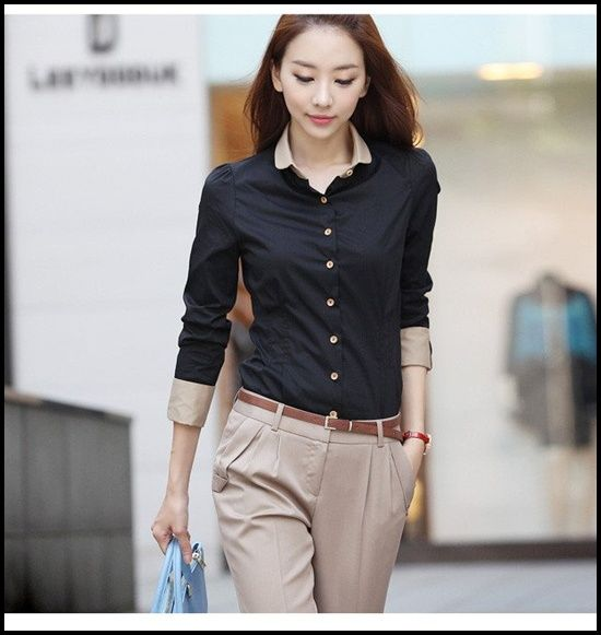 25 Simple And Beautiful Examples Of Formal Wears For Office Women Fashion Ladies Shirts Formal Fashion Blouses For Women
