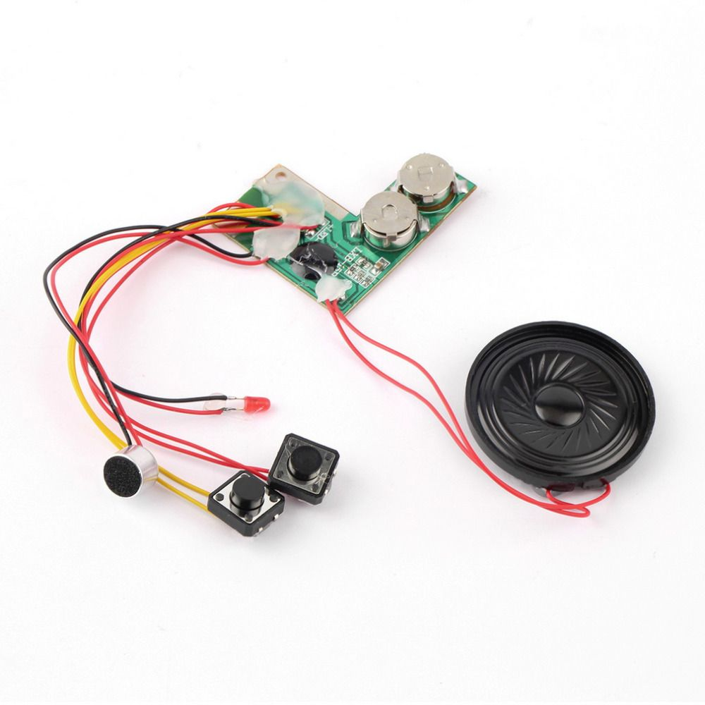 10sec Recordable Talking Music Sound Chip Module for Musical Greeting Card