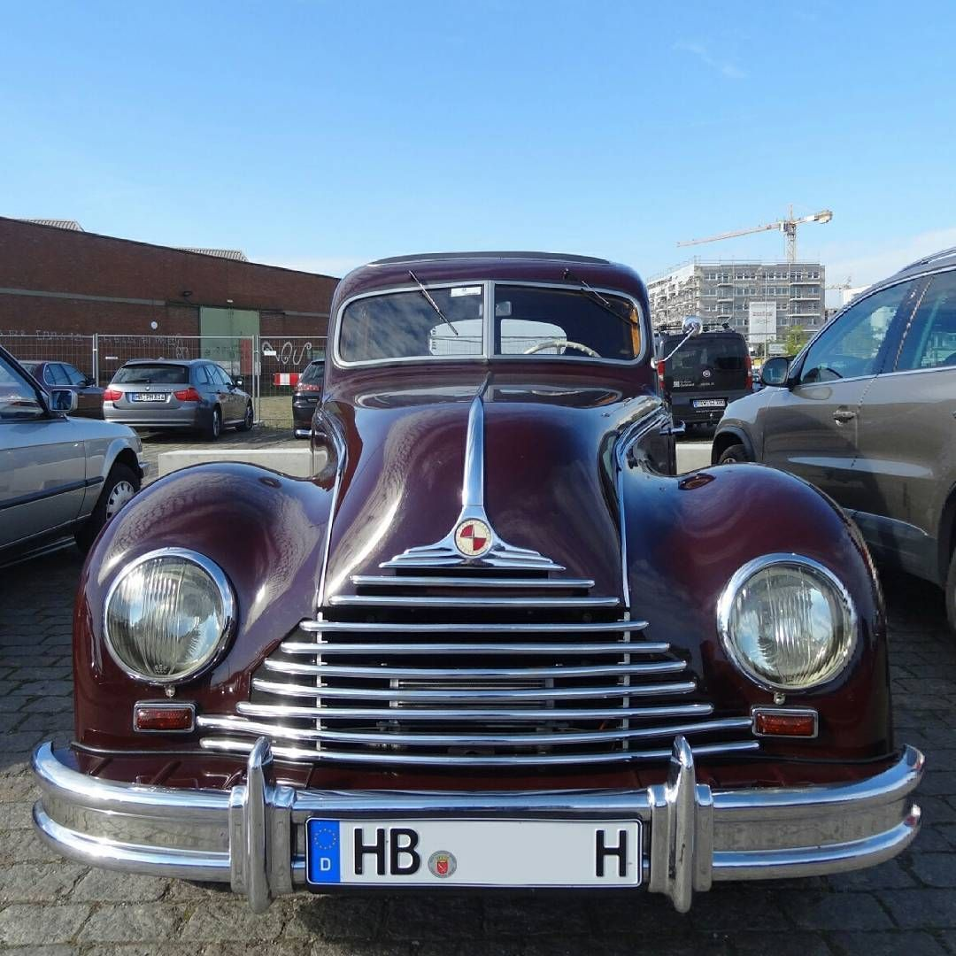 EMW 340 / BMW 340 (1949-1953) at #SchuppenEins. It's a modified version of the BMW 326 and was ...