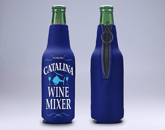 Step Brothers Catalina Wine Mixer Zipper Style Beer By Paweeart Wine Mixers Wine Bottle Art Wine