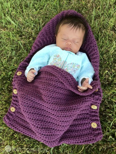 Newborn Sleep Sack Free Crochet Pattern Crochet Baby