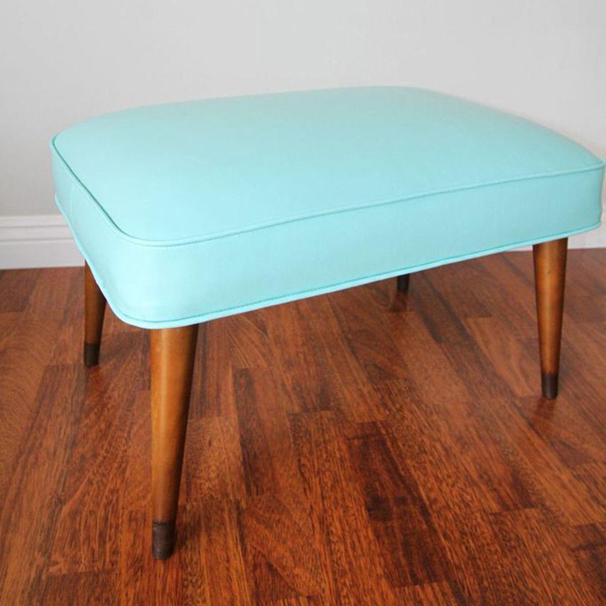 Fab Home Decor: Mid-Century Footstool Bench