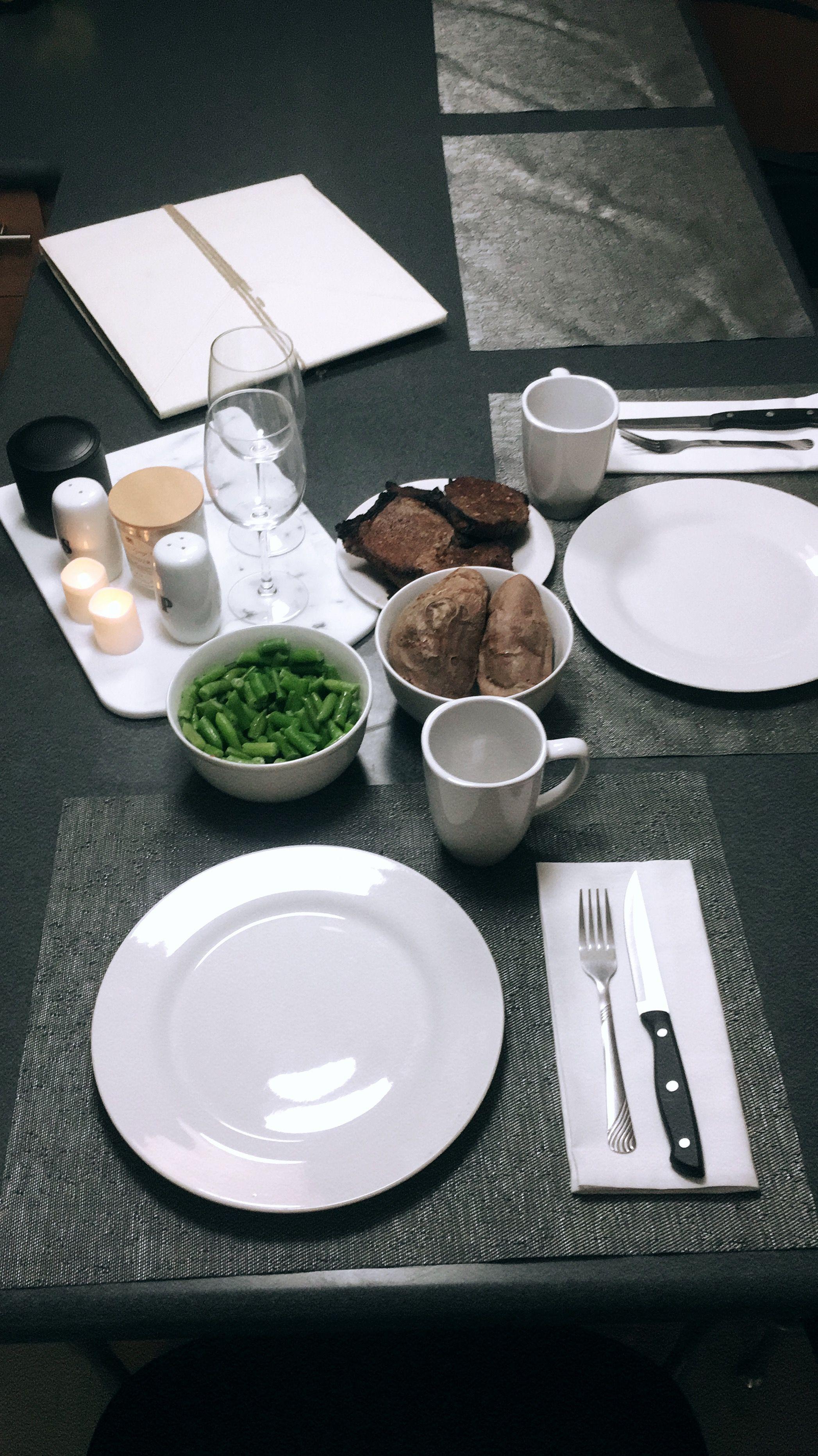 romantic dinner • welcome home • surprise • boyfriend ...
