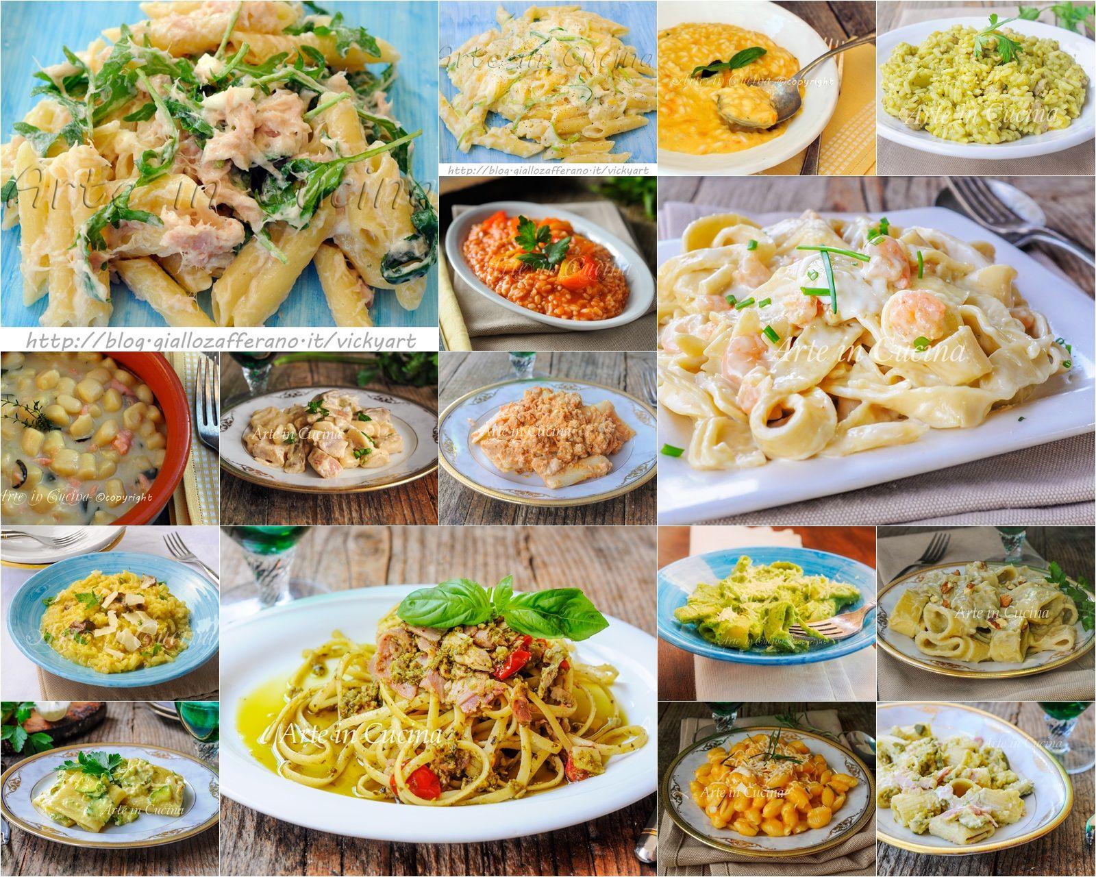 Primi piatti cremosi facili e veloci | Primi piatti, Spaghetti e Piatti