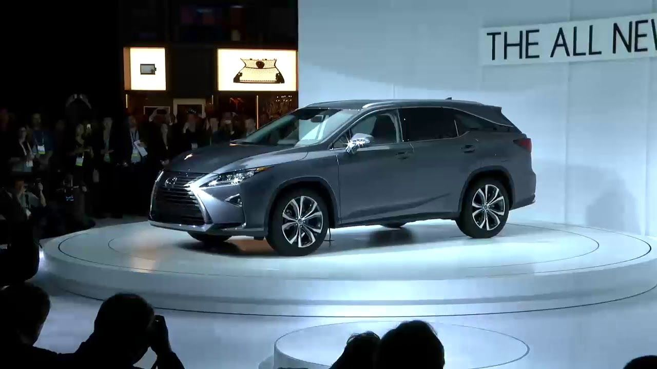 2018 Lexus RX 350L LA Auto Show Unveiling In case you missed it