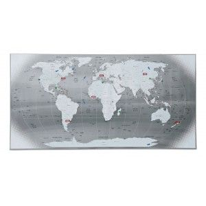 MAGNETIC WORLD MAP Living