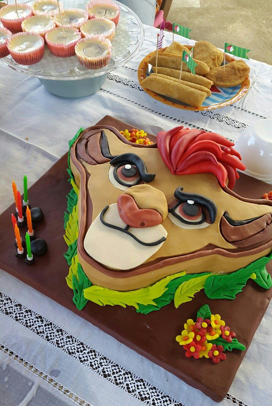 Lion Guard Cake Kion The Lion Guard Disney Junior Pinterest