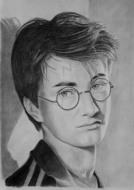 harry potter drawing by stephenpotter15 via flickr