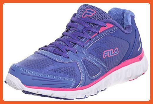 Fila Women's Memory Solidarity w Running Shoe, Royal Blue