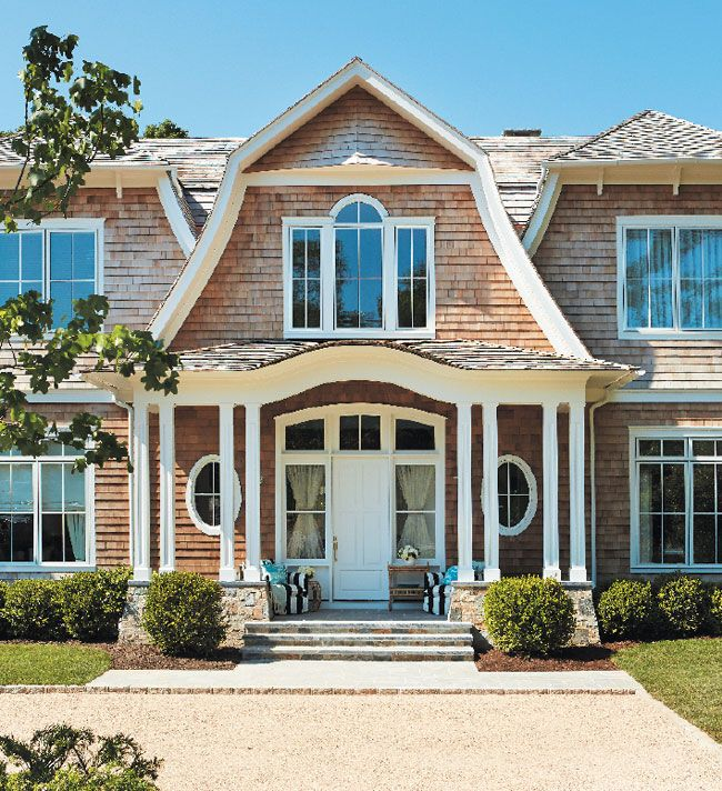 Holiday House Hamptons Cottages Gardens Shingle House Hamptons House House Exterior