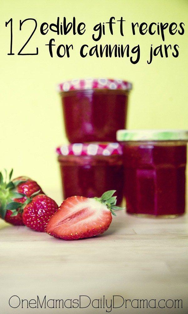 12 edible gift recipes printable tags