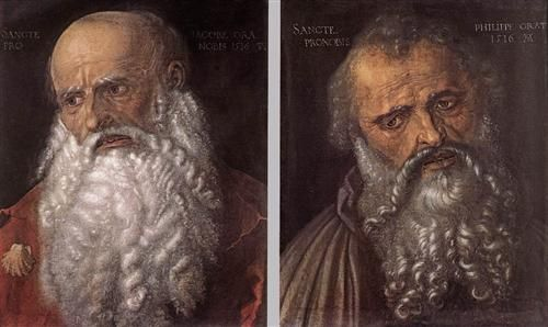 Апостолы Филипп и Иаков Зеведеев - Альбрехт Дюрер