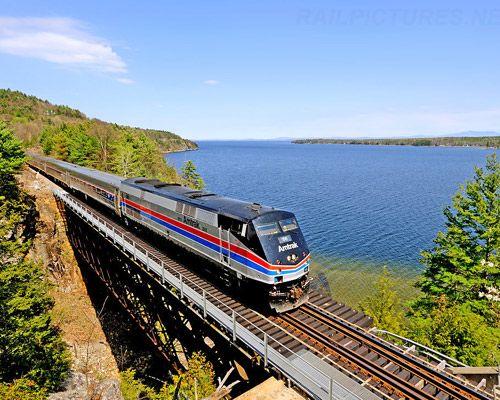 Best Train Journeys In North America The Adirondack