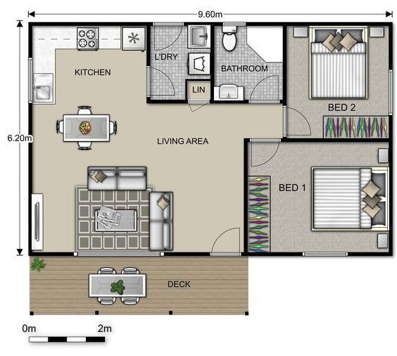 planos de casas kariña