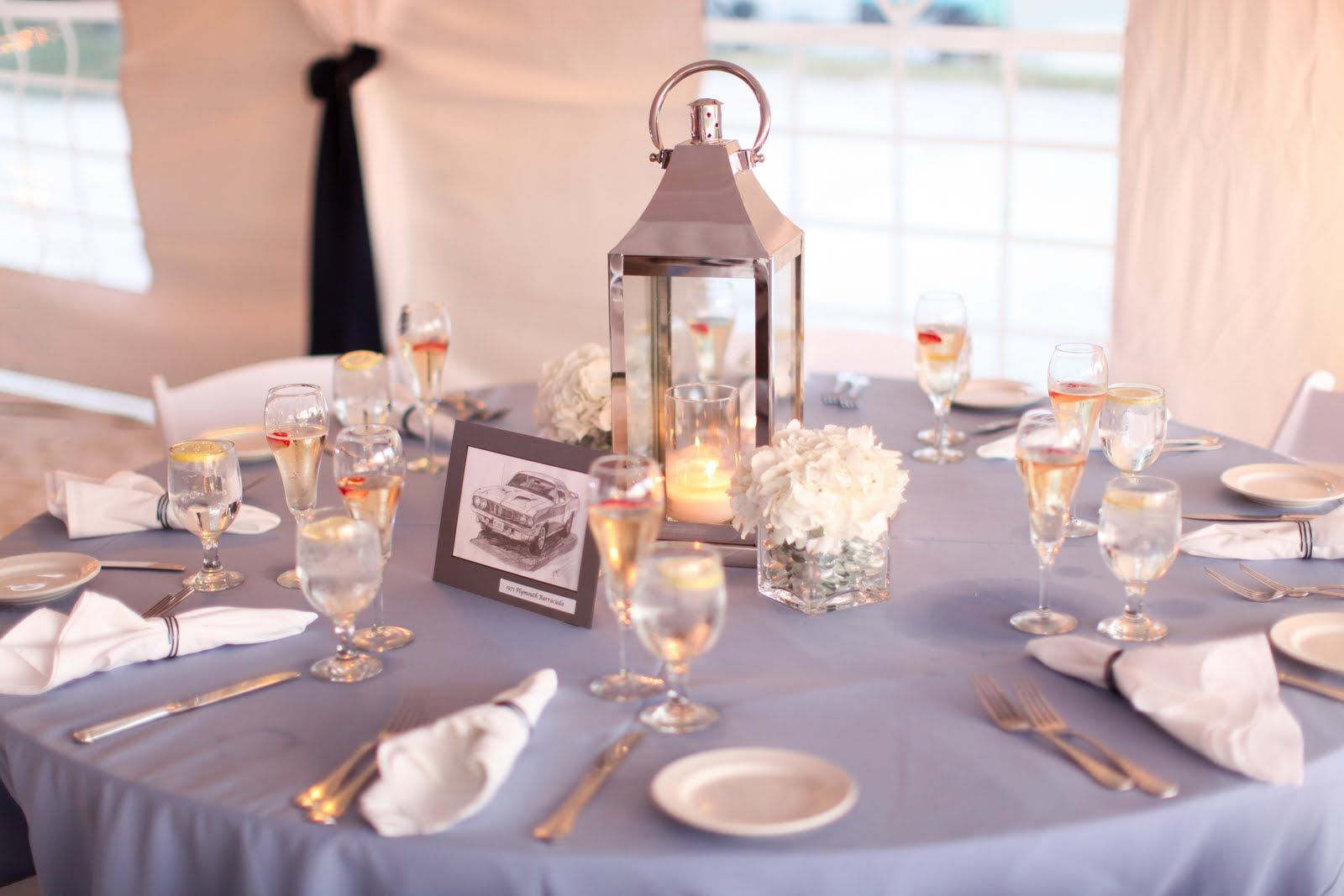 White wedding decoration ideas  table decorations for weddings lanterns spring  Unique Event Design