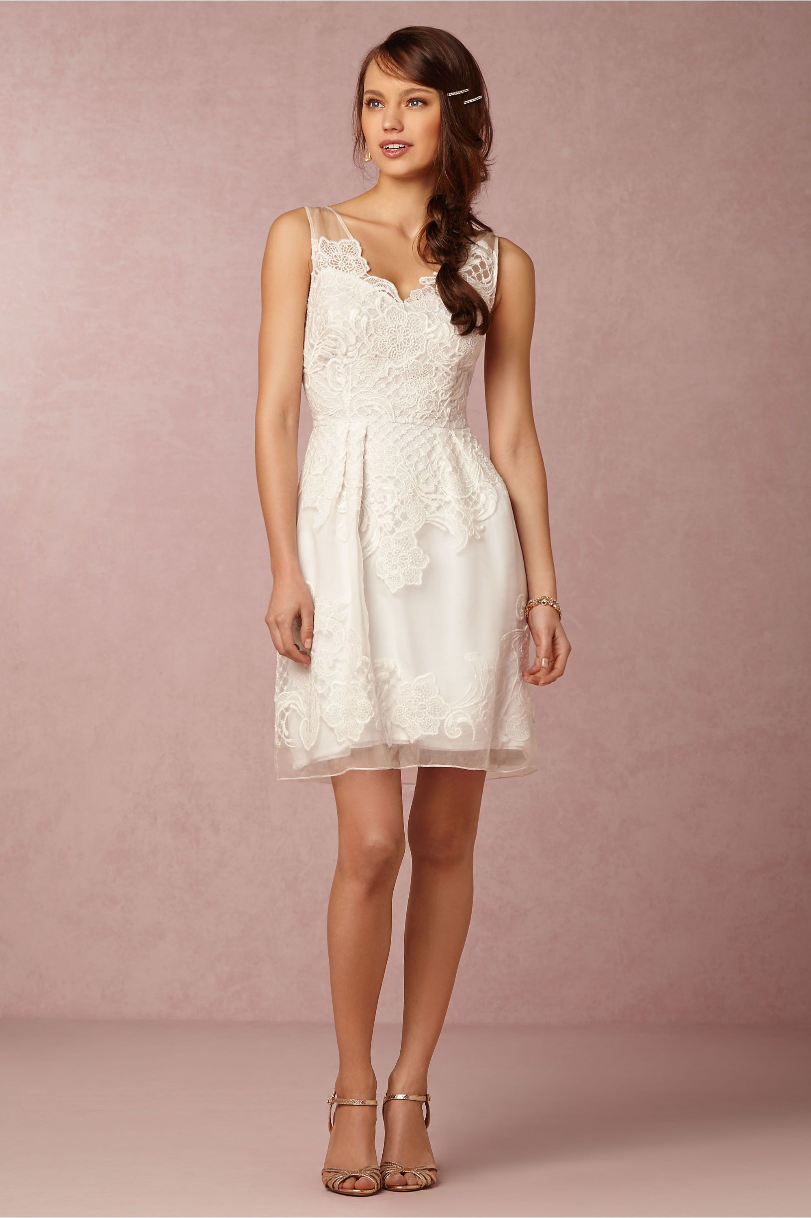 reception or bridal shower dress | Celestina Dress from @BHLDN | The ...