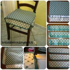 Come fare cuscini per sedie – Tutorial | Cucito | Cuscini ...
