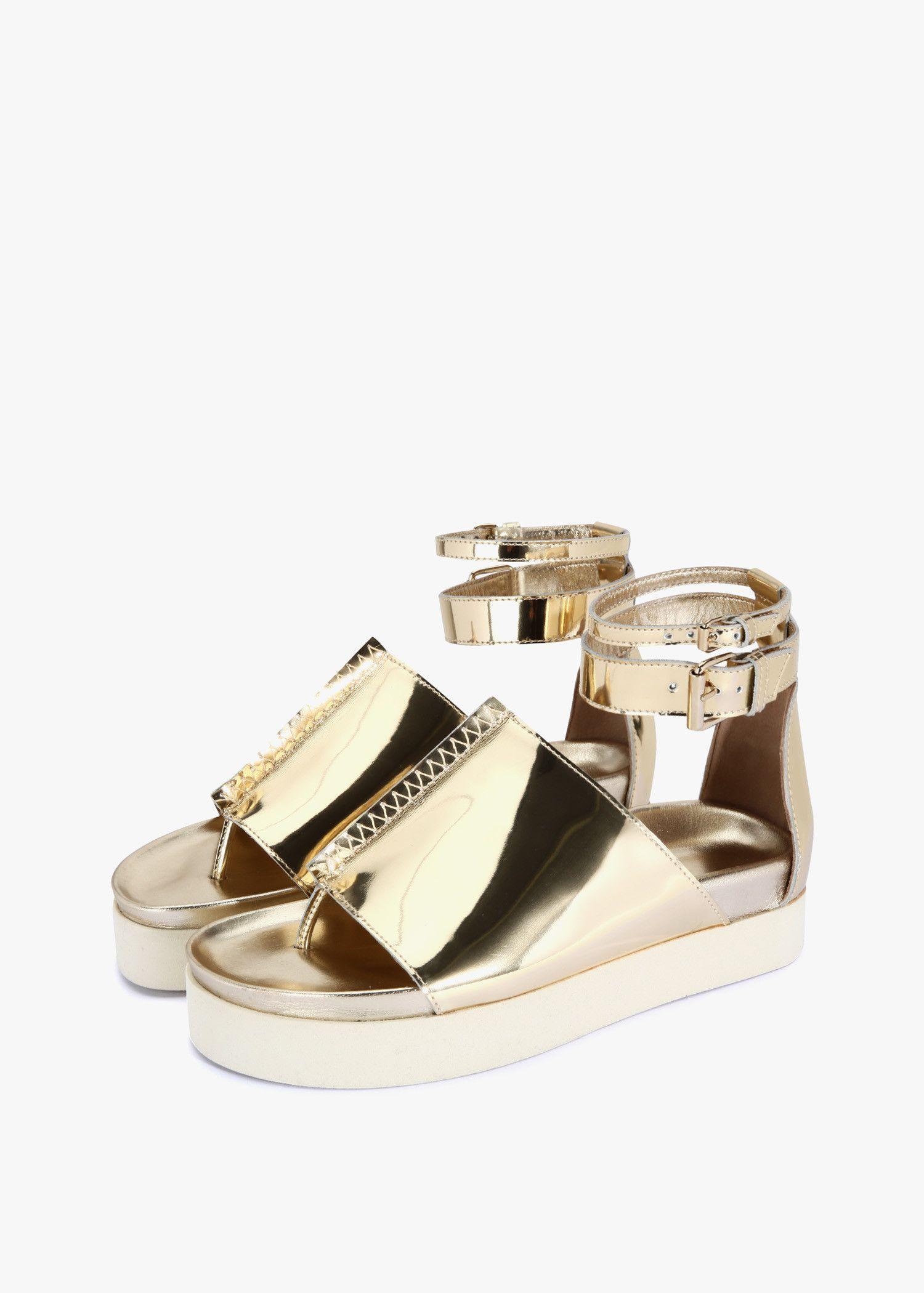 6e83b9924d96 Ellery Rhyme Flat Sandals