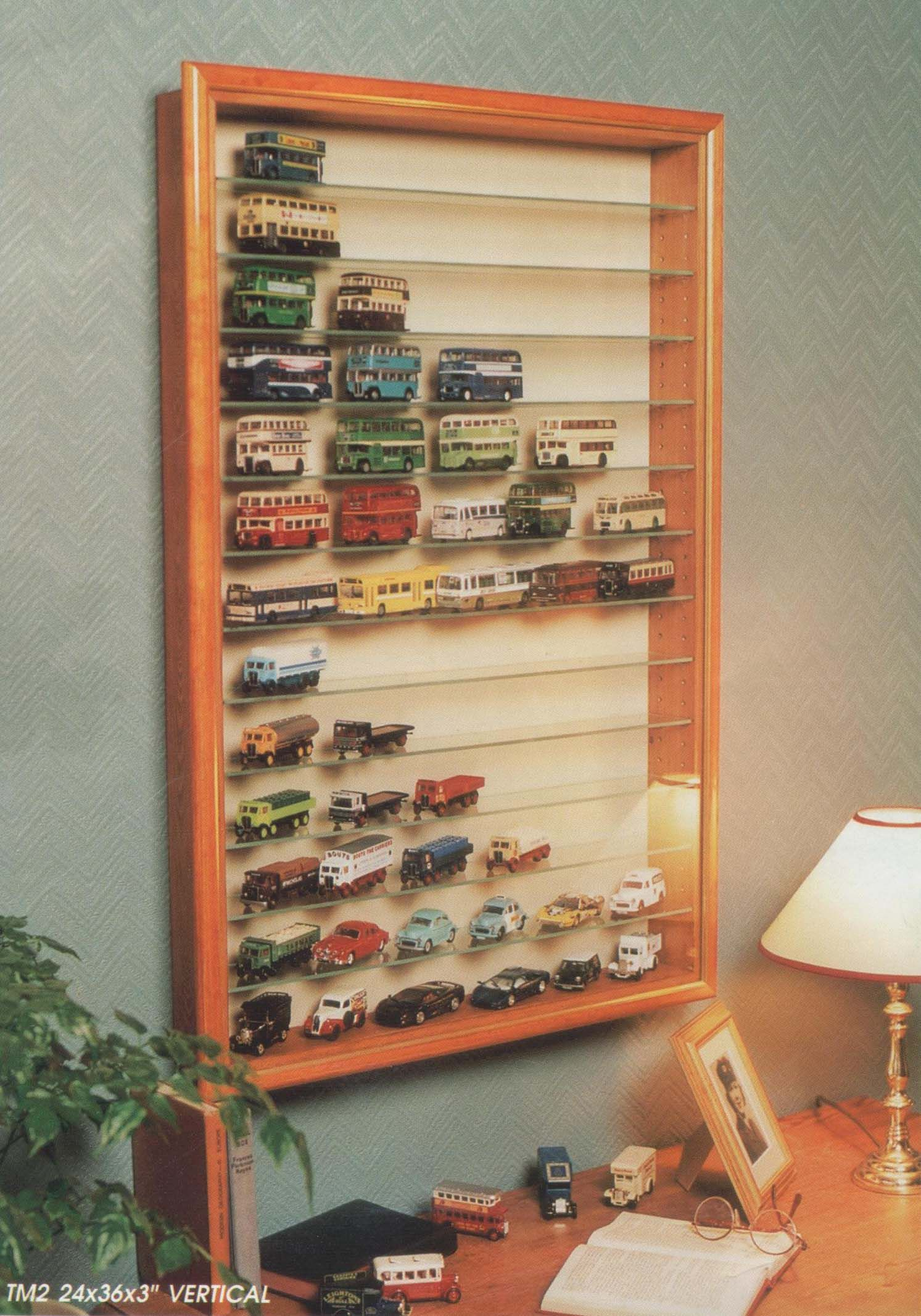 """TM2V Selby Range Wall Mounted Display Cabinet 24""""x36""""x3"""" includes"""