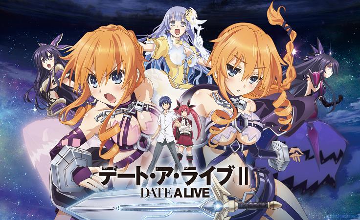 Date A Live II Date a live, Anime manga, Anime
