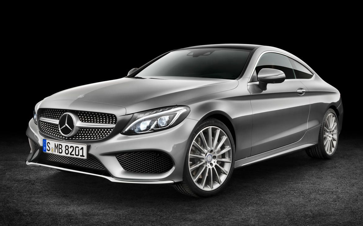 Mercedes Benz previews sporty 2017 C class coupe pictures